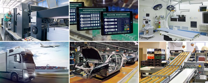 elektronische Bauteile Kunden Branchen